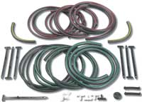 68 Camaro RS Headlamp Color Coded Hose Set