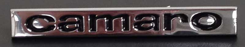 "Header Panel or Trunk Lid Emblem (Sold Each) - ""camaro\"" - 67 Camaro"