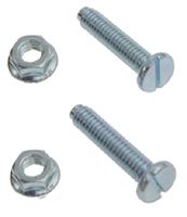 67-69 Camaro Firebird 64-73 All Chevrolet (exc. Vega) Hood Stop Bolts w/ Nuts (Sold as a Pair)