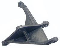 Lower Alternator Bracket - Cast Iron - Big Block - 67-68 Camaro Chevelle Fullsize Chevy Car; 68 Chevy II Nova; 68-70 Chevy Truck