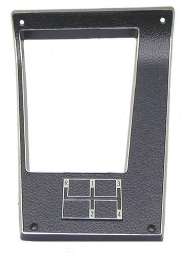 70-71 Camaro 4 Speed Center Console Shift Plate Bezel
