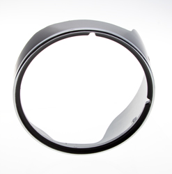 Headlamp Bezel w/ Chrome Trim - LH - 69 Camaro (Standard)