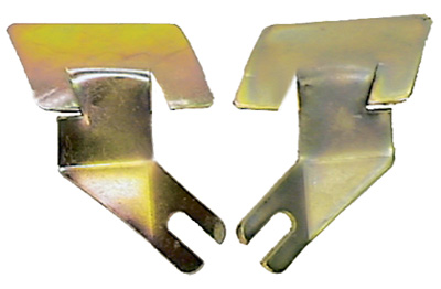 Windshield Molding Clips - Lower Outer - LH/RH Pair - 67-69 Camaro Firebird (Coupe)