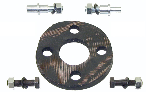 Steering Coupler Repair Set - 67-69 Camaro Firebird; 68-74 Chevy II Nova; 68-72 Chevelle El Camino; 68-72 GTO