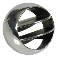 66-69 Chevelle, 67-68 Camaro, Firebird & 65-68 Chevy Fullsize Chrome Side Astro Vent Ball
