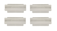 Headliner Bow Clips - 4 Piece Set