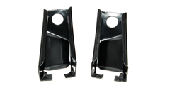 Trunk to Quarter Panel Corner Braces - LH/RH Pair - 69 Camaro