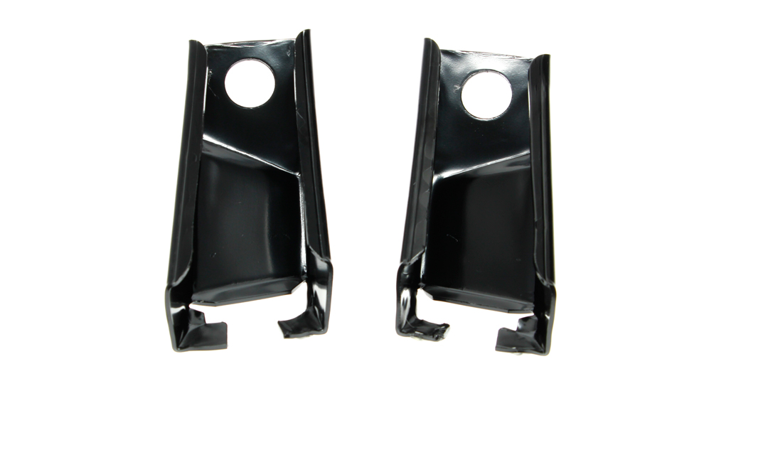 69 Camaro Trunk to Quarter Panel Corner Braces (Sold as a Pair)