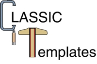 Fender, Header Panel & Trunk Emblem Template Kit - 68 Camaro (Standard 327)