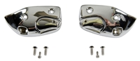 Sun Visor Support Brackets - Pair - 67 Camaro Firebird (Convertible)