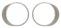 Headlamp Bezels w/o Chrome Trim - Pair - 69 Camaro (Standard)
