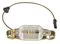 License Lamp Assembly - 67-69 Camaro; 66-72 Chevy II Nova; 66-69 Chevelle; 70-72 Monte Carlo; 66-69 Impala; 71-72 Ventura