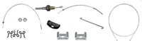 Parking Brake Cable Kit - All Cables with Hardware - 67-69 Camaro Firebird