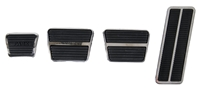 67-72 Manual Transmission Pedal Pad & Trim Kit