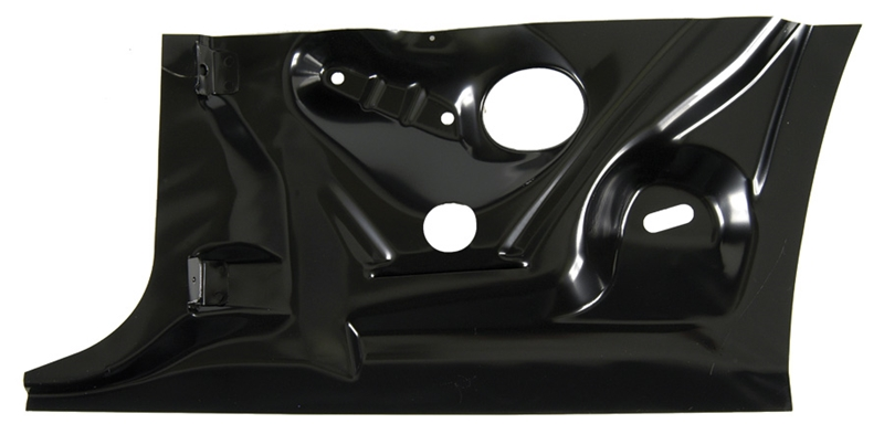 Quarter Panel Patch - Rear Inner Lower Half - RH - 67-69 Camaro Firebird (Coupe)