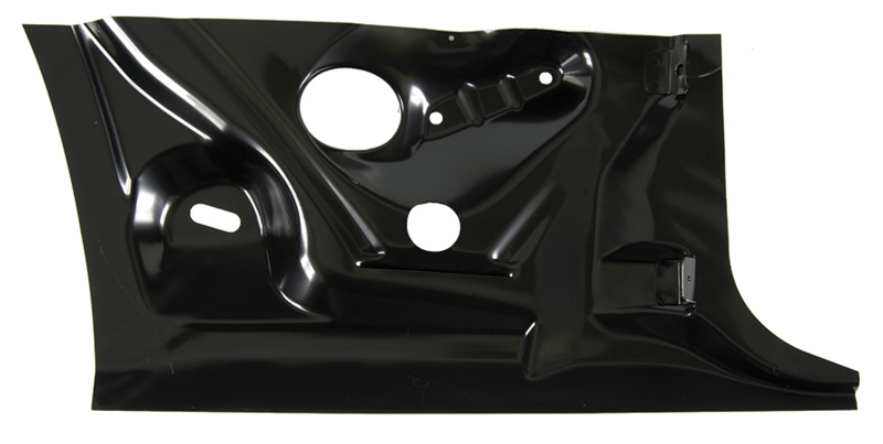 Quarter Panel Patch - Rear Inner Lower Half - LH - 67-69 Camaro Firebird (Coupe)