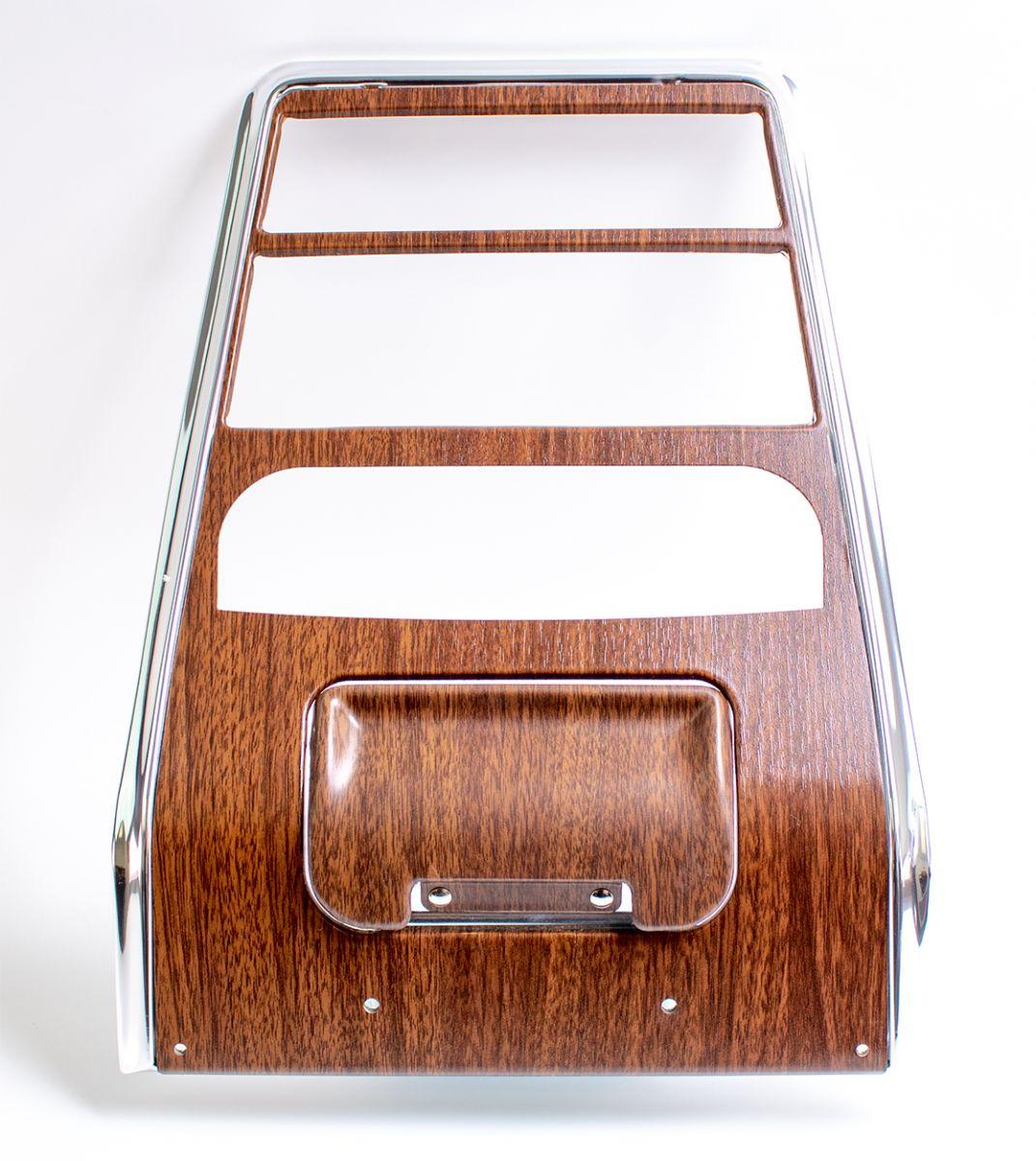 1968 Camaro Dash Ash Tray Assembly Walnut Woodgrain GM# 3921861