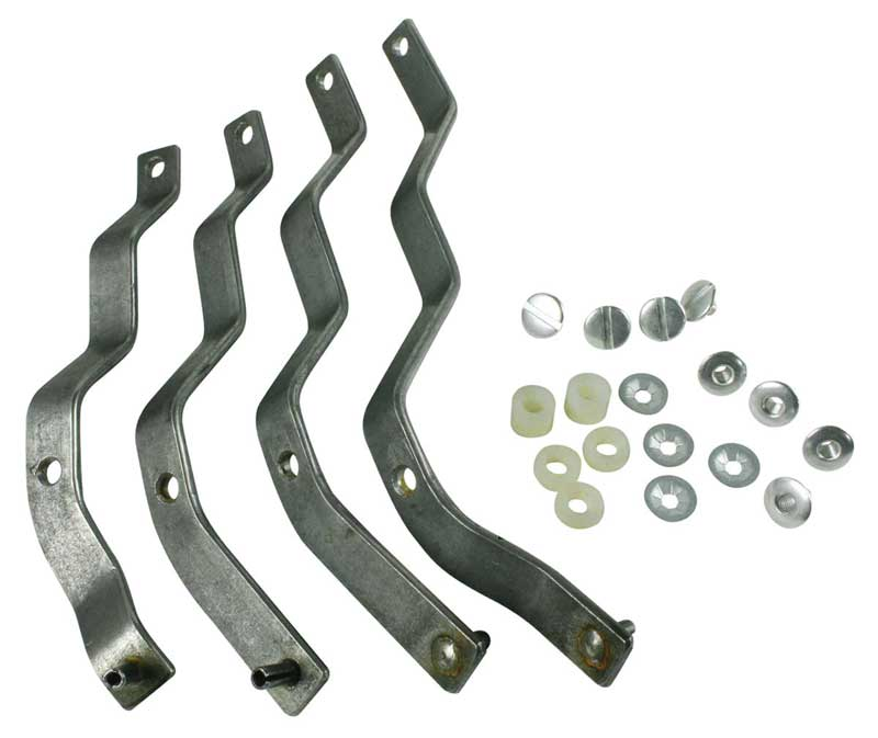 Heater & A/C Control Steel Levers (4pc Set) - 67 Chevelle El Camino