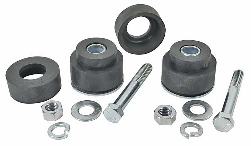 Radiator Support Bushings - Upper & Lower with Hardware - 68-72 GM A Body (Except GTO)