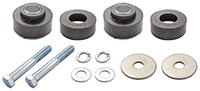 Body Bushing Supplement Set w/ Hardware - 68-72 Big Block Models
