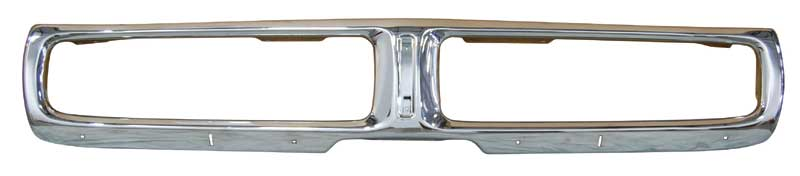 Front Bumper with Jack Slots - 72 Charger