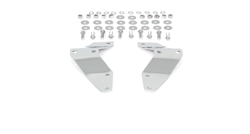 Front Bumper Bracket Set - Chrome - 53-56 F100 F250