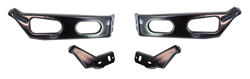 Front Bumper Bracket Set - 64 Galaxie