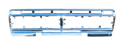 Grille Shell - Anodized Aluminum - 73-77 Ford F100; F150; F250