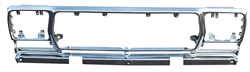 Grille Shell - Chrome Steel - 78-79 Ford F100; F150; F250; Bronco