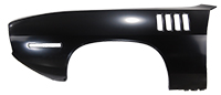 Front Fender with Gill Slots - LH - 71 Barracuda