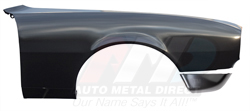 Front Fender with Extension - RH - 67 Camaro (Rally Sport)