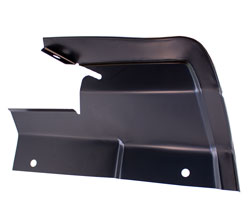 Fender Splash Shield - Upper Rear - LH - 66-67 Fairlane
