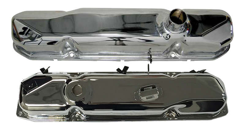 67 Mopar Valve Cover BB 440 PR Magnum Chrome VALVE COVERS ONLY