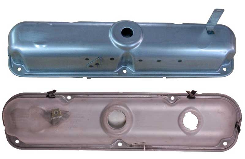 72-up Mopar Valve Cover SB PR VALVE COVERS ONLY