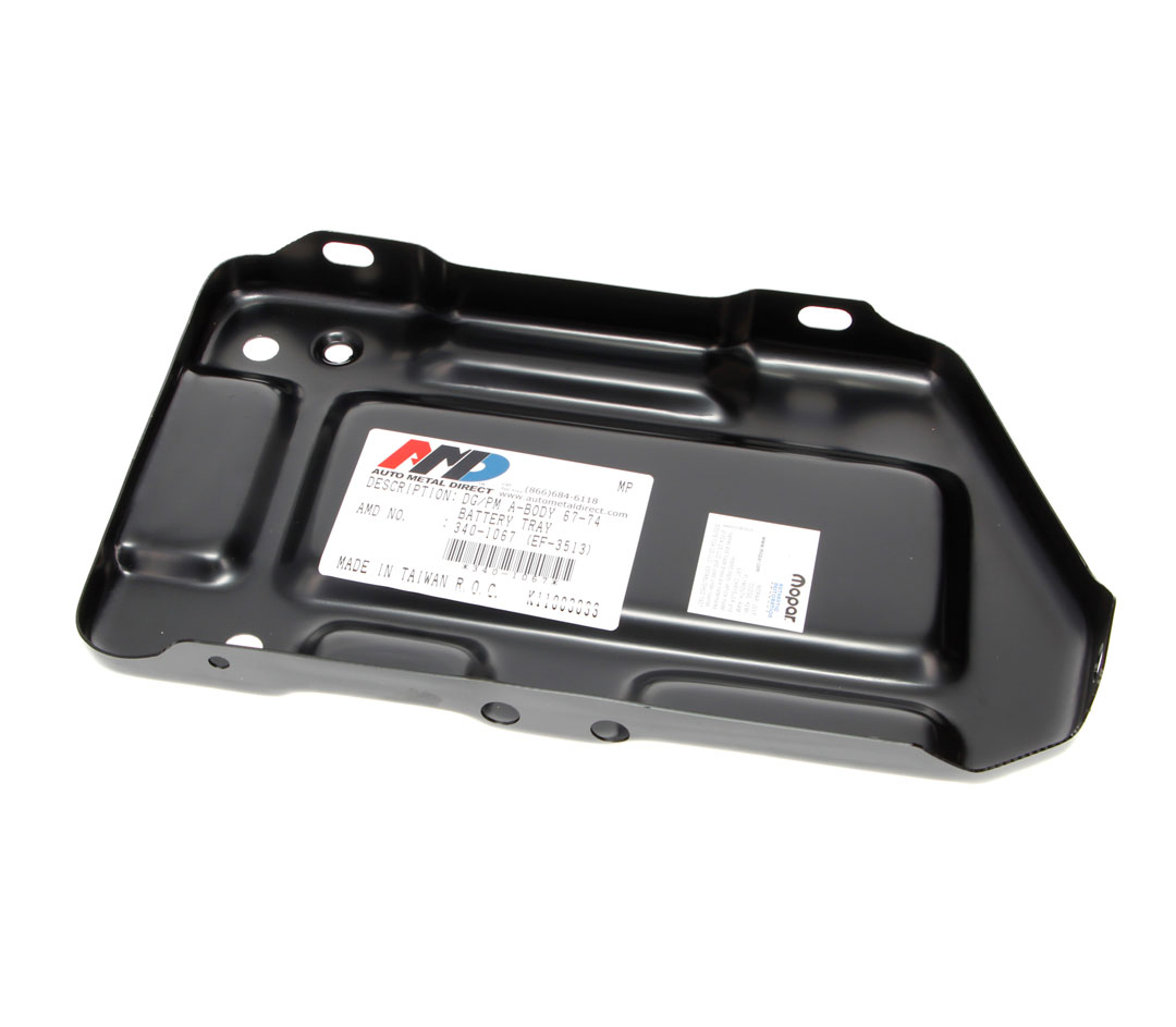 Battery Tray - 67-74 Dodge Plymouth A-Body