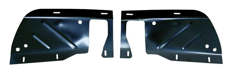 Front Inner Fender Splash Shields - Pair - 68-69 Charger