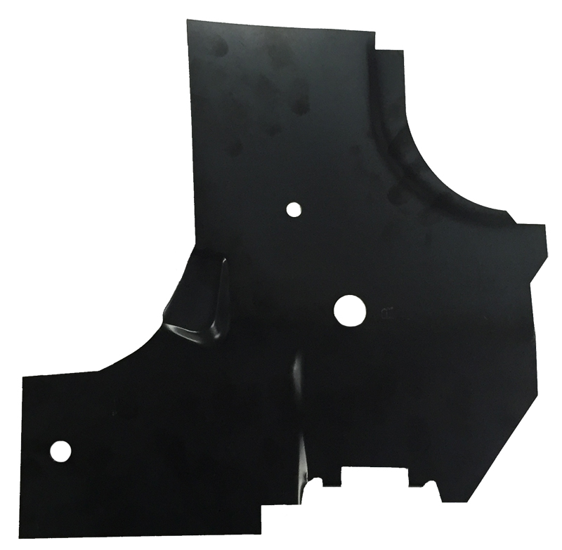 Cowl Side Hinge Panel Lower Reinforcement - RH - 66-67 Chevelle El Camino GTO Skylark Cutlass