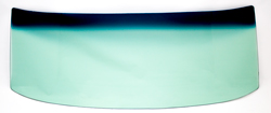 Windshield - Green Tint - 67-76 A-Body 2DR Hardtop & Convertible