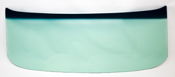 Windshield - Green Tint - 62-67 Chevy II Nova 2/4DR Sedan