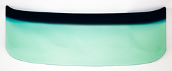 Windshield - Green Tint - 62-67 Chevy II Nova Coupe & Convertible