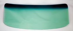 Windshield without Antenna - Green Tint - 68-72 Chevy II Nova 2DR