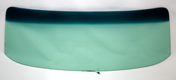 Windshield with Antenna - Green Tint - 68-72 Chevy II Nova 2DR