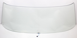 Windshield with Antenna - Clear - 70-72 GM A-Body Coupe & 2DR Sedan