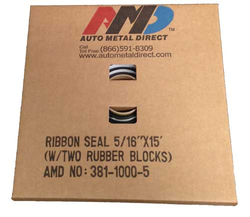"Window Ribbon Seal - 5/16"" x 15\'"