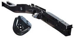 Frame Rail with Shock Tower - Front - RH - 66-70 B-Body