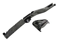 Frame Rail with Shock Tower - Front - LH - 70-74 E-Body