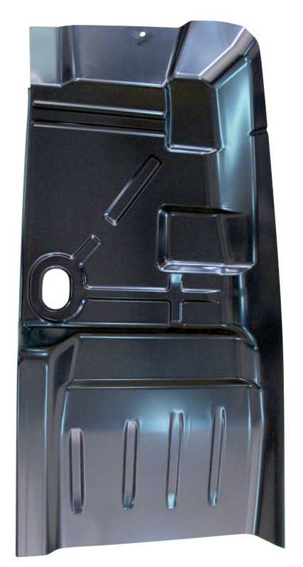 68-74 Nova Front Floor Pan Patch - LH (includes part of toe board)