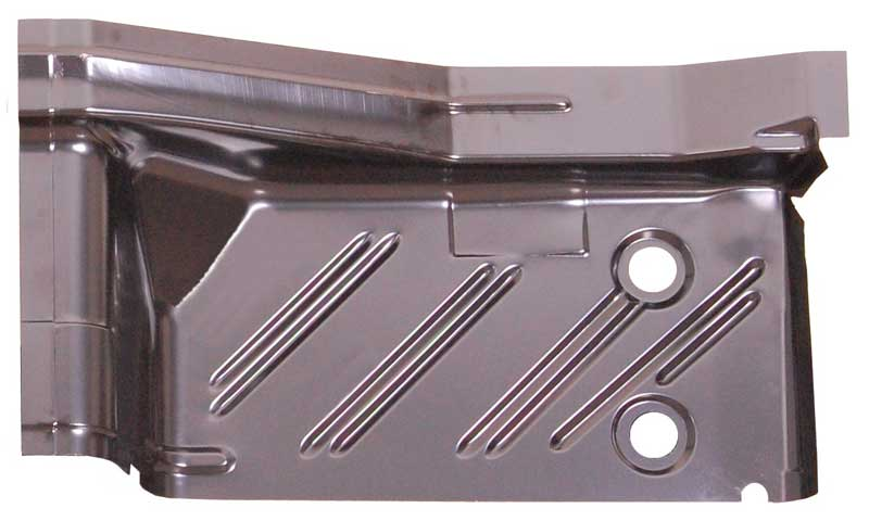 Rear Footwell Area Floor Pan - LH - 62-65 Plymouth B-Body; 62 & 65 Dodge B-Body