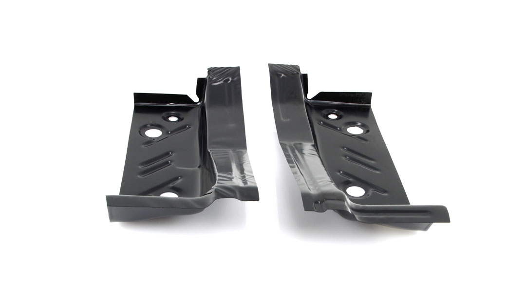 Rear Footwell Area Floor Pans - Pair - 66-70 Dodge Plymouth B-Body