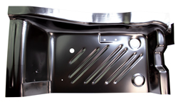 Rear Footwell Area Floor Pan - LH - 71-74 Barracuda
